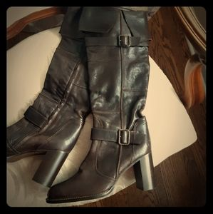 Migliorini leather boots (Made in Italy)